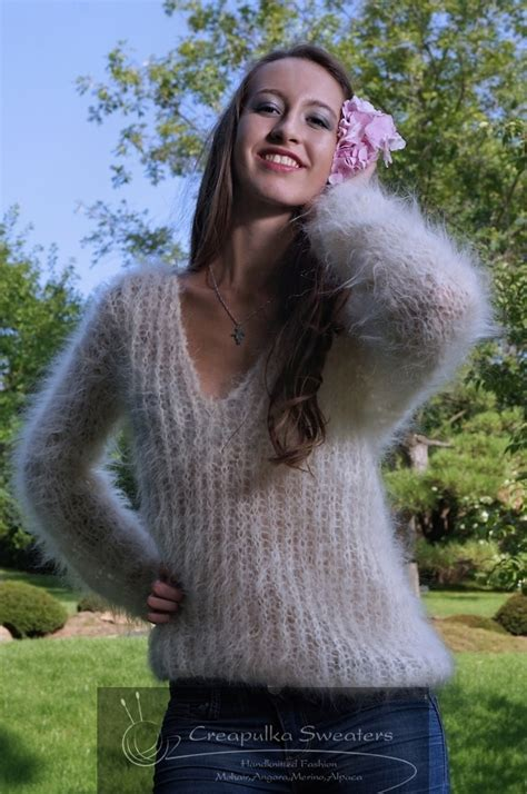 angora mohair mohair sweater pictures gray cardigan sweater