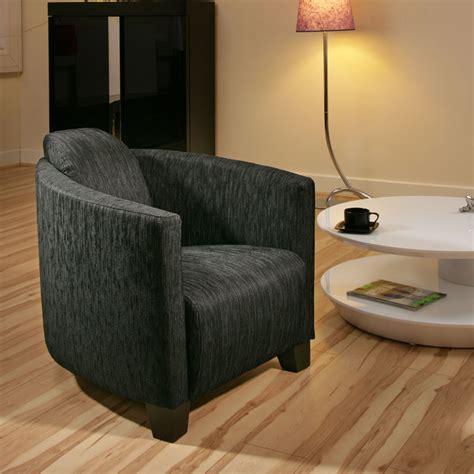 Large Modern Armchair Modern Large Charcoal Black Fabric Armchair Armchairs Tub
