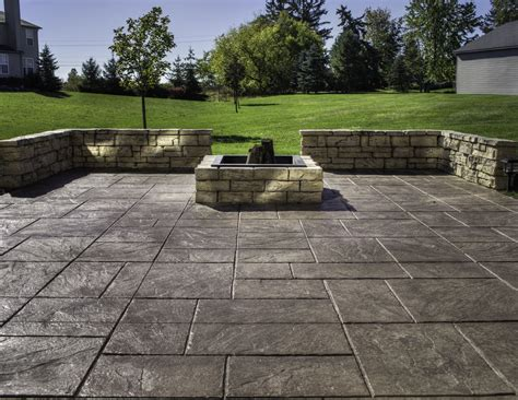Square To Yards Of Gravel by Sted Concrete Patio Saving Much Of Your Budget Amaza