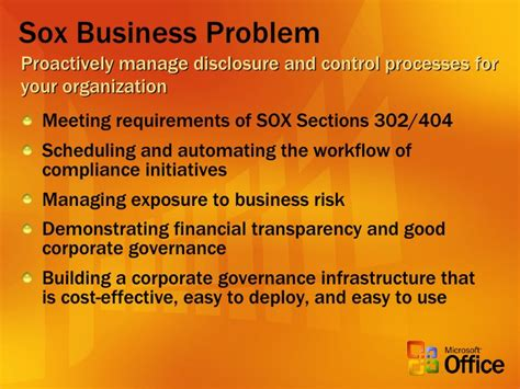 Sox Section 302 by Sox Compliance Solution