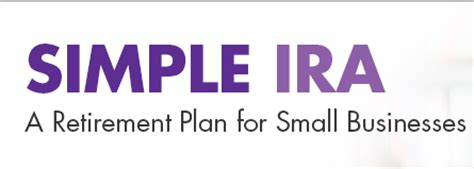 small business retirement plans simple ira sep ira qrp simple ira small business retirement plan