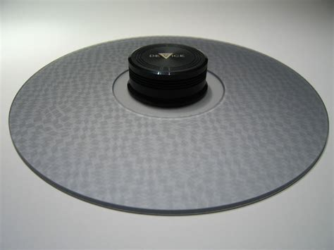 Turntable Mat by Delta Device Acrylic Turntable Mat Textured Grey With