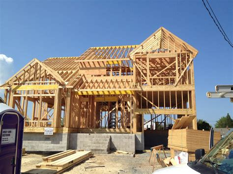house frame gallery of our successful cocuzzaconstruction work