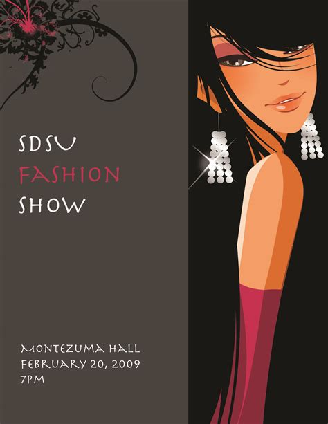 fashion show ticket template ug fashion show flyer 6 small mrobertsonline