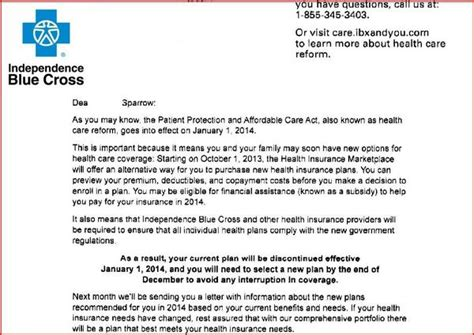 insurance cancellation letter obamacare health insurance companies raise rates cancel policies as