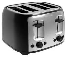 And Black Toaster Black Decker 4 Slice Toaster Walmart Ca
