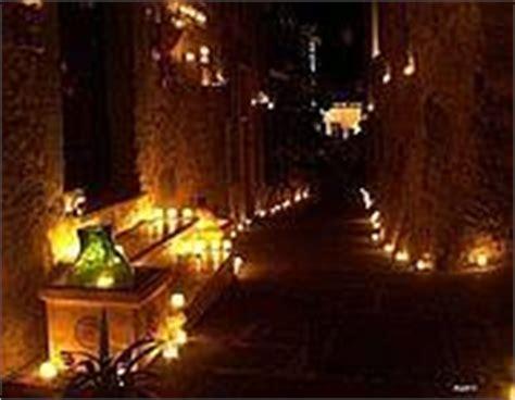 festa delle candele una notte da 40mila candele corriere roma