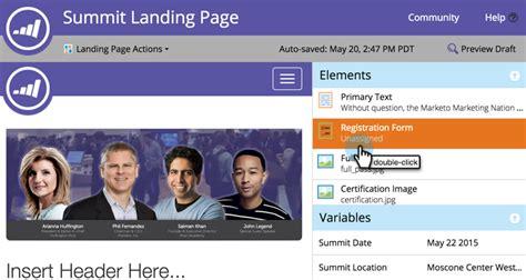 marketo landing page templates choice image templates