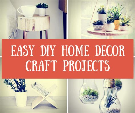 easy home decorating crafts decor archives diy rally