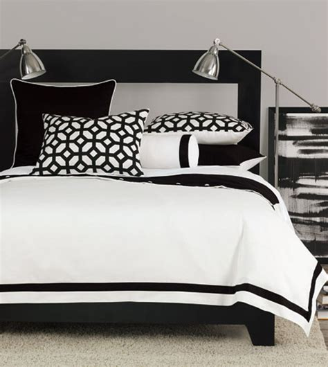 black and white bed get this look black white chic zillow porchlight