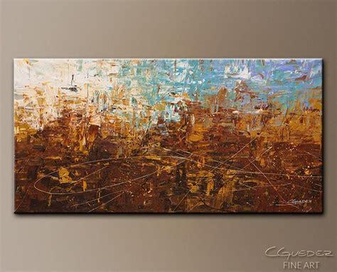 collection  blue  brown abstract wall art