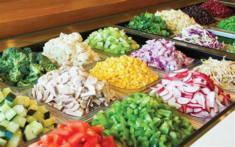 Best Salad Bar Toppings by Enjoy A Custom Salad From Our Menu Salata Salad Bar