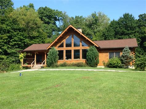 Country House Plans Online by Beautiful Log Cabin Home On 15 Acres Homeaway Louisville