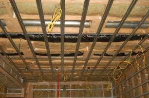 semi soundproofing basement ceiling gearslutz