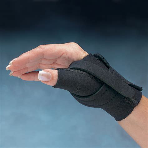 comfort cool hand brace comfort cool 174 thumb cmc restriction splints north coast