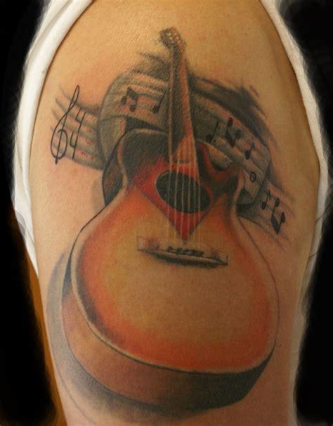 simple tattoo of guitar 60 inspirational guitar tattoos nenuno creative