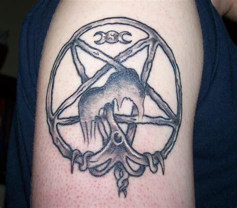 wiccan tattoos for men 55 amazing pagan tattoos ideas