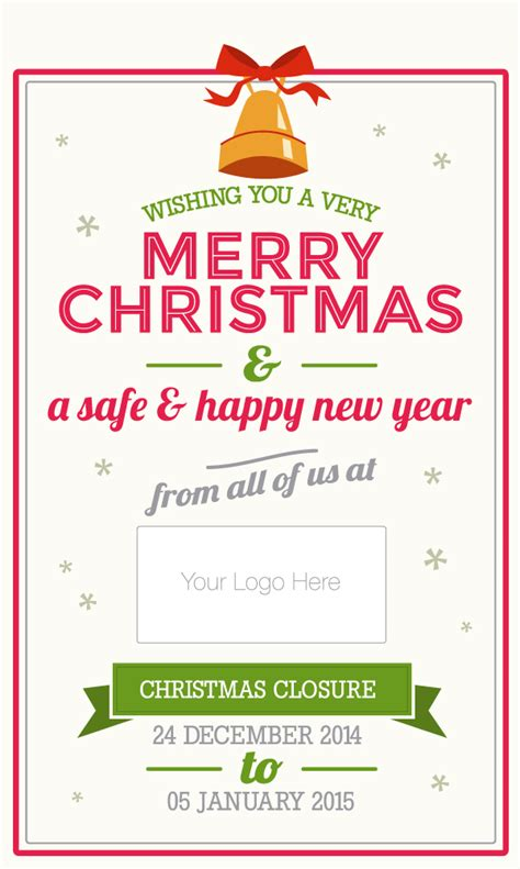 Do Your Customers Know Your Opening Hours Over Christmas Martlette Trading Hours Letter Template