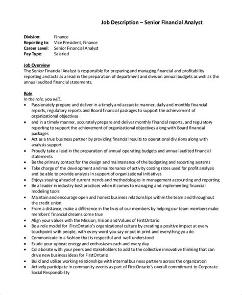 Credit Analyst Thank You Letter Analyst Description Description National Bank Of Commerce Title Credit Analyst