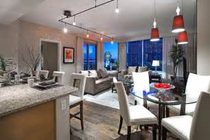 Kendall Dining Room by Inside A Luxury Las Vegas High Rise Condo At Turnberry