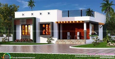 box type single floor house kerala house design single