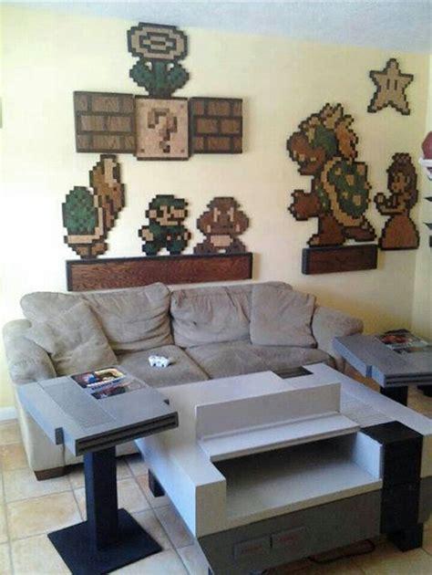 Nintendo Room by Amazing Nintendo Nes Themed Living Room