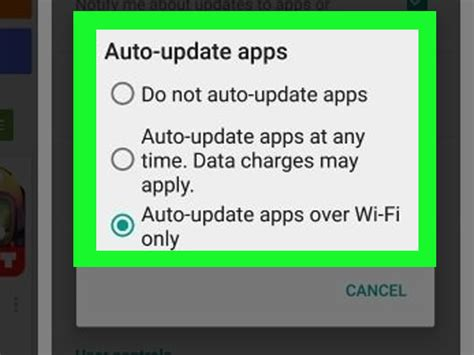 how to turn automatic updates android how to update apps automatically on an android 5 steps