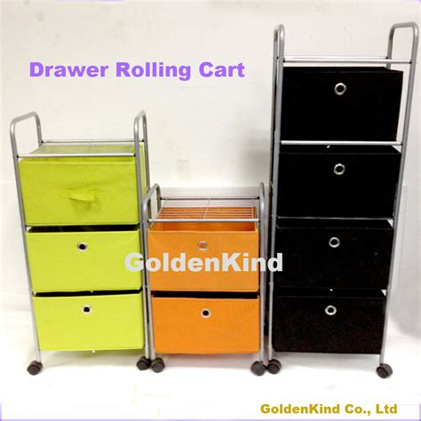 Storage Cart With Drawers And Wheels Household Furniture Small Storage Cart Drawer Storage
