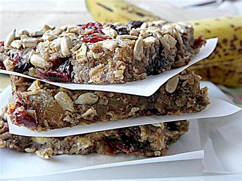 Handmade Breakfast - oat fruit breakfast bars dairy egg sugar flour nut