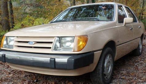diesel  speed  ford tempo survivor
