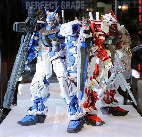 Model Decal Pg Astray Frame gundam p bandai hobby shop exclusive pg 1 60 gundam astray blue frame on display
