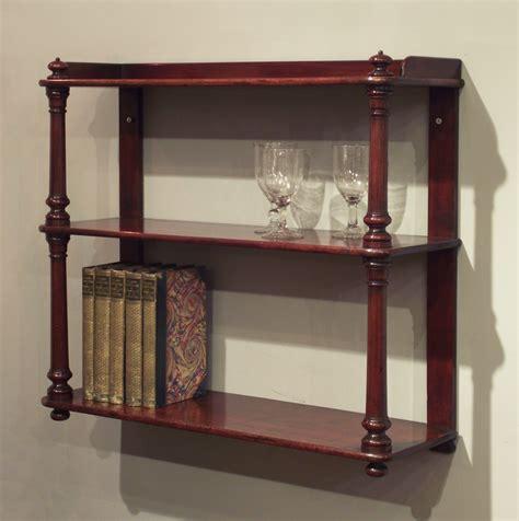 antique wall shelves set of antique shelves wall hanging