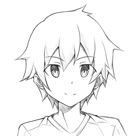 A Anime Drawing by Anime Pictures Easy To Draw Draw Anime
