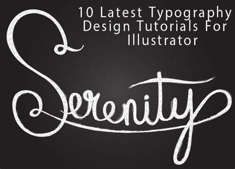 typography illustrator tutorial 10 awesome typography design tutorials for