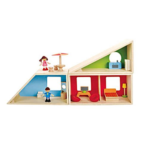 big doll house for kids hape wooden toys geometrics house first dollhouse for kids small for big