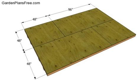 8x8 saltbox shed plans the jek
