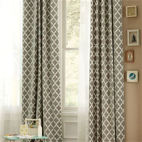 pottery barn bedroom curtains geometric curtains heelsandhome