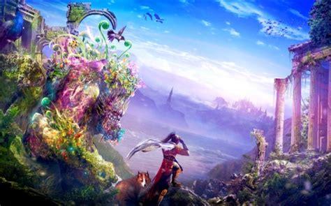 journey  wonderland fantasy abstract background