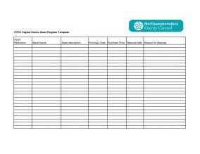 Registration Form Template Excel by 8 Best Images Of Asset List Template Excel Asset