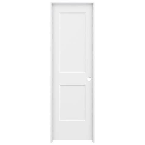 2 panel interior doors home depot masonite 24 in x 80 in solidoor smooth 2 panel arch top