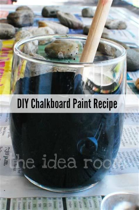 diy chalk paint recipe grout 10 and easy diy chalkboard paint recipes shelterness