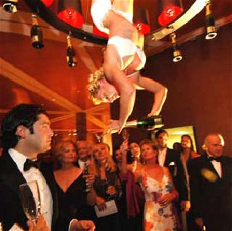 aerial bartender cirque skyline talent & events