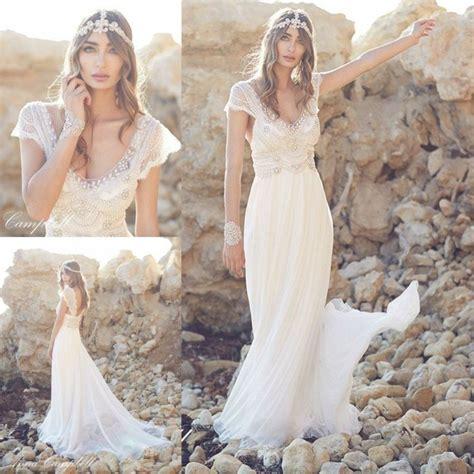Boho Hochzeit Schuhe by 67 Brautkleider Im Boho Stil Der Hei 223 Este Trend F 252 R Ihre