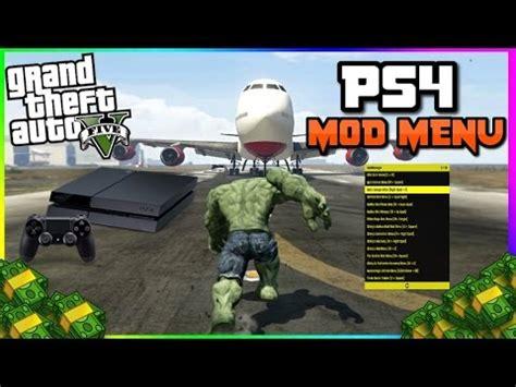 "gta 5: ""ps4 mod menu showcase"" (next gen modding) story"