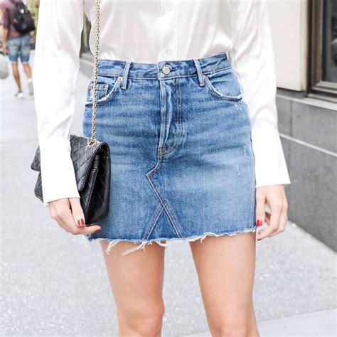25 best ideas about jean skirts on jean skirt