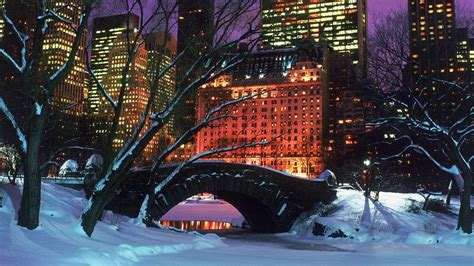 christmas in central park back drops for santa pics central park wallpapers wallpaper cave
