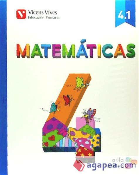 libro matemticas 1 primaria matematicas 4 186 primaria vicens vives agapea libros urgentes