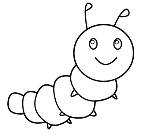 cute caterpillar coloring pages 30 caterpillar coloring pages coloringstar