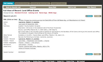Grant County Property Records Leaves Branches Mappy Monday Virginia Ancestors Lva