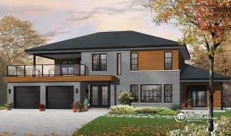 modern split level house plans drummondhouseplan 3046 the silkwood is a beautiful modern bi generational plan with a main